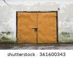 Metal Door Of Garage