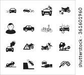 car icons set. | Shutterstock .eps vector #361601960