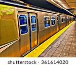 vancouver's sky train commuter... | Shutterstock . vector #361614020