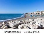 Carihuela Beach  Torremolinos ...