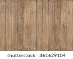 close up of old wooden plank... | Shutterstock . vector #361629104
