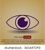 eye icon or symbol | Shutterstock .eps vector #361647293