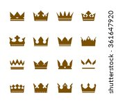 set of vector icons. collection ... | Shutterstock .eps vector #361647920