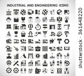 shipping icons  logistics icons ... | Shutterstock .eps vector #361648220