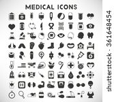 health care and medical icons   Shutterstock .eps vector #361648454