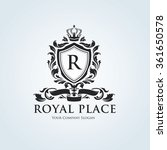 royal place logo template.... | Shutterstock .eps vector #361650578