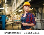 factory female worker