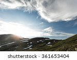 tundra landscape in northern... | Shutterstock . vector #361653404