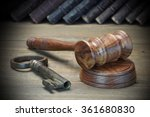 Judges Or Auctioneer Gavel ...