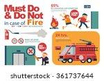 vector illustration instruction ... | Shutterstock .eps vector #361737644