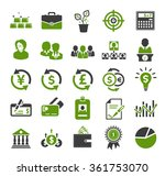investment icons | Shutterstock .eps vector #361753070