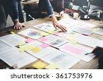 business people meeting design... | Shutterstock . vector #361753976