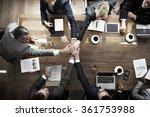 business people teamwork... | Shutterstock . vector #361753988