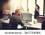 business people analysis... | Shutterstock . vector #361754084