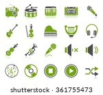 music icons | Shutterstock . vector #361755473