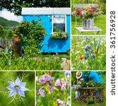 Summer Garden Collage