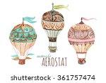 Aerostat Vintage Set....