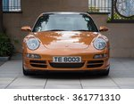 Постер, плакат: Porsche 997 front view
