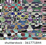 abstract painting  digital... | Shutterstock . vector #361771844