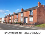 Row Of Red Bricks Terraced...