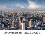 Landscape Of River In Bangkok...