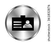 identification card   vector...