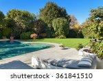 architecture  beautiful garden... | Shutterstock . vector #361841510