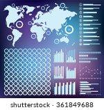 vector infographics set  ring...   Shutterstock .eps vector #361849688
