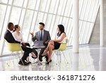 group business meeting in... | Shutterstock . vector #361871276