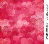 romantic  bright pink...   Shutterstock .eps vector #361873610