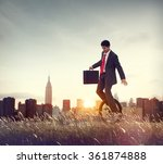 balance business commuter... | Shutterstock . vector #361874888