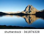 Midi Dossau Peak Reflected In...