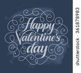 vector holidays text on... | Shutterstock .eps vector #361878983