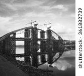 long exposure bridge | Shutterstock . vector #361882739