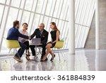group business meeting in... | Shutterstock . vector #361884839