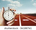 time start with old chronometer | Shutterstock . vector #36188761