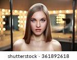 beauty portrait of a relaxed... | Shutterstock . vector #361892618