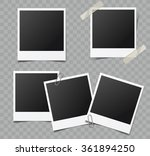 collection of vector blank... | Shutterstock .eps vector #361894250