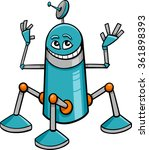 cartoon vector illustration of... | Shutterstock .eps vector #361898393