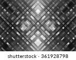 abstract grey fractal... | Shutterstock . vector #361928798