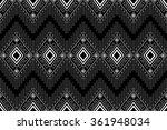 geometric ethnic pattern design ... | Shutterstock .eps vector #361948034