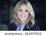 portrait of a mature... | Shutterstock . vector #361957010