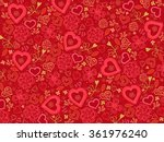 valentines day background | Shutterstock .eps vector #361976240
