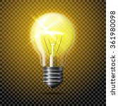 transparent vector realistic... | Shutterstock .eps vector #361980098