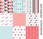 seamless pattern valentine's day | Shutterstock .eps vector #362001134