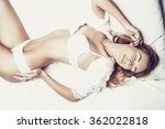 fashionable photo of young sexy ... | Shutterstock . vector #362022818