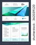 brochure layout  flyer and... | Shutterstock .eps vector #362039120