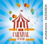 circus carnival entertainment  | Shutterstock .eps vector #362060834