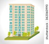 urban and cityscape design | Shutterstock .eps vector #362060990