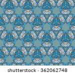 abstract geometric pattern.... | Shutterstock .eps vector #362062748
